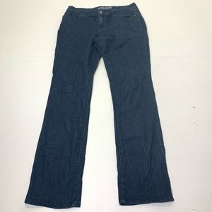 Women's Size 8 DKNY Curvy Slim Boot Cut Dark Jeans